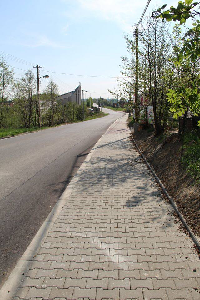 Golkowice. Koniec przebudowy drogi powiatowej. Wreszcie jest bezpieczniej