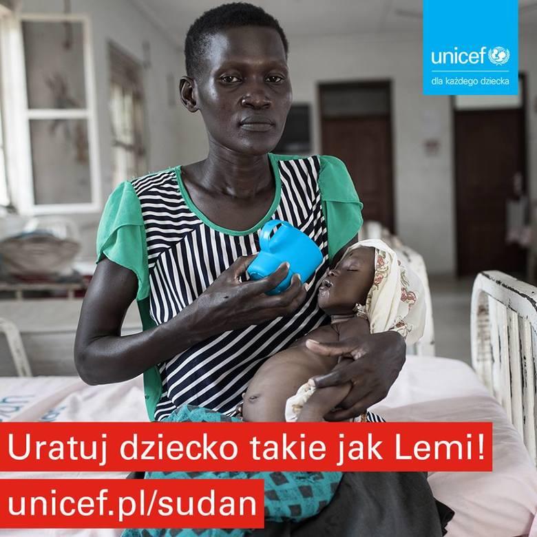 Ćwierć miliona dzieci w Sudanie Południowym cierpi z powodu niedożywienia. Możesz pomóc!
