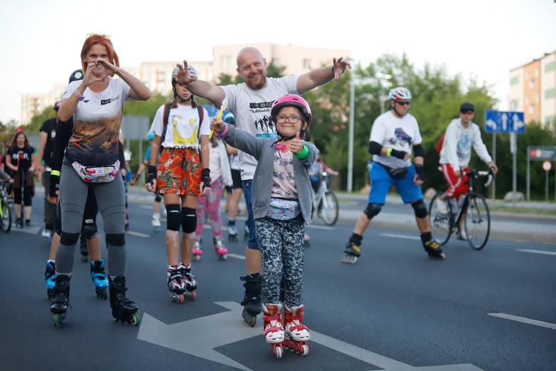 Toruń kocha rolki - zobacz, jak bawili się w sobotę rolkarze!