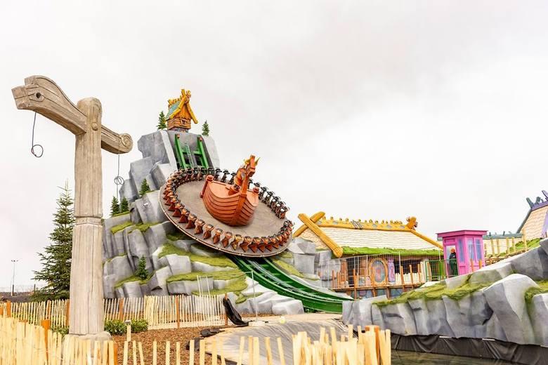 W Majaland Kownaty powstaje nowa strefa zabawy: Wickieland. A co to oznacza? Że będzie jeszcze więcej atrakcji w wielkim parku rozrywki, któego królową