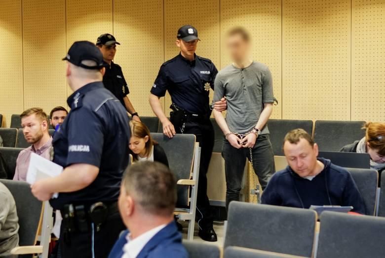 Kacper Ch. zeznawał we wtorek przed poznańskim Sądem Okręgowym w sprawie śmierci Ewy Tylman