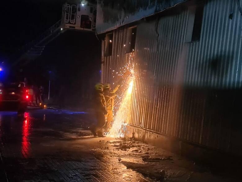 Wielki pożar w Ozorkowie wybuchł w czwartek 26 sierpnia 2021.