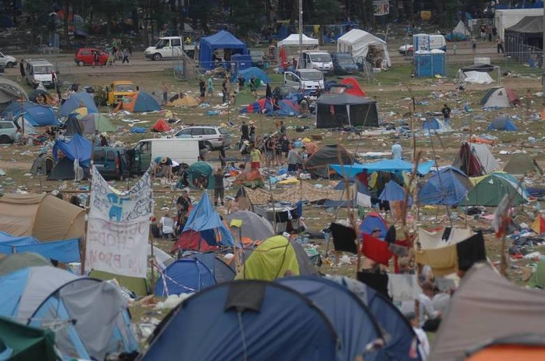 Czas na wielkie sprzątanie po Przystanku Woodstock 2012.