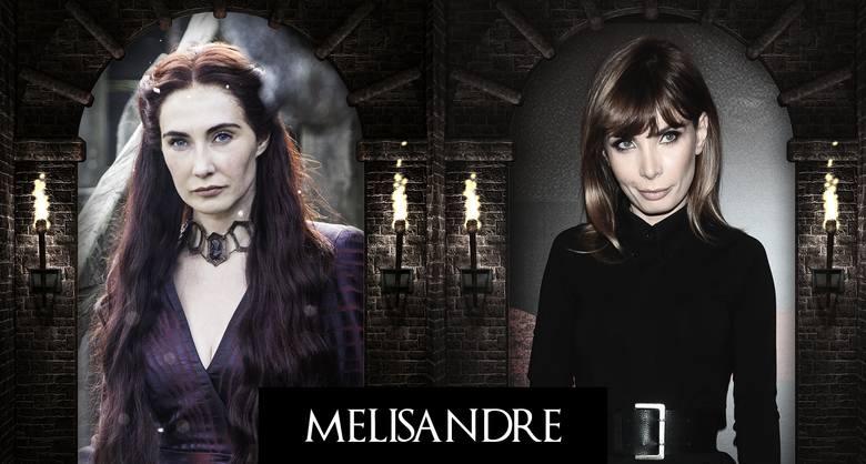 Melisandre: Agnieszka Dygant