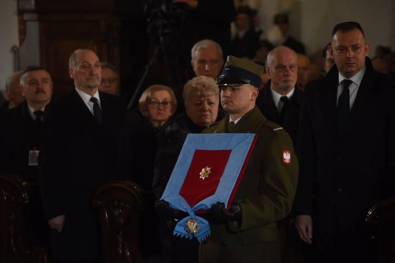 Pogrzeb Jana Olszewskiego w Warszawie