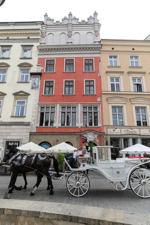 Kamienica Bonerowska, Rynek Główny 9Kamienica pierwotnie gotycka (najstarszy budynek powstał na przełomie XIII i XIV w.), następnie rozbudowana, a w