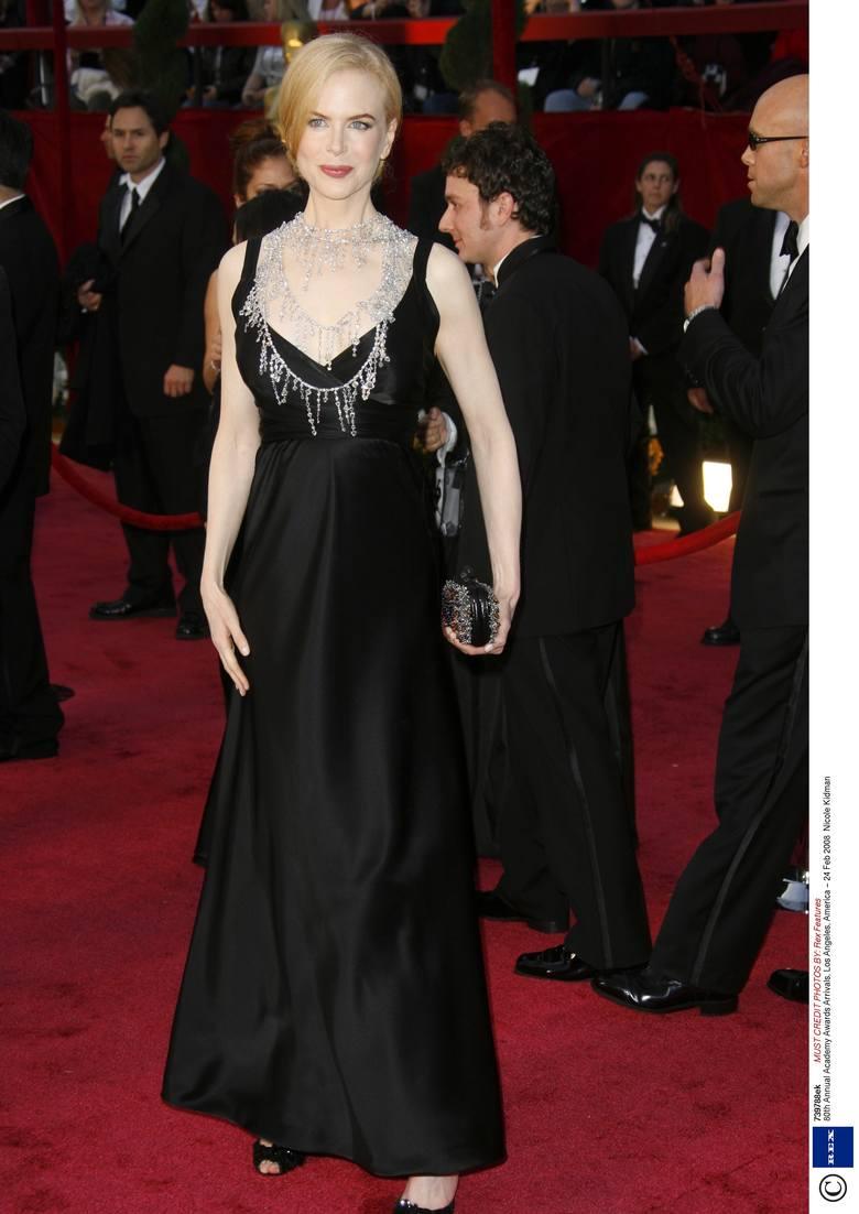 Nicole Kidman na 80. gali wręczenia Oscarów w 2008 r.