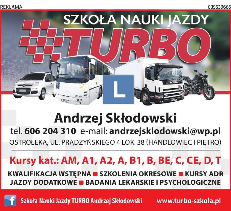 Szkoła Nauki Jazdy TURBO Andrzej Skłodowski
