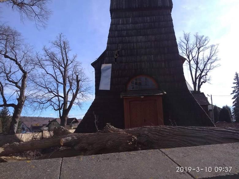 Zabytkowy kościół w Gogołowie