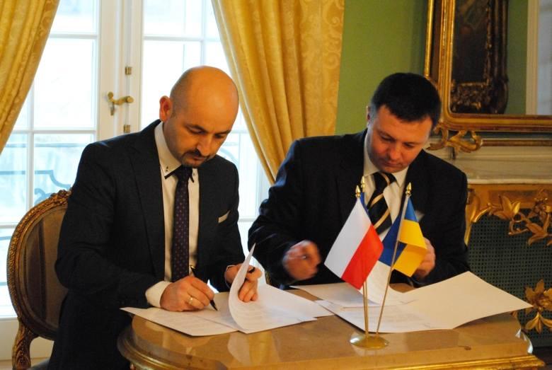 Umowa współpracy między Choroszczą a Horochowem (zdjęcia)