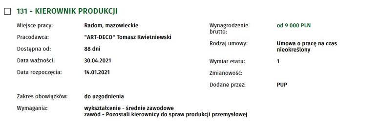 Zobacz oferty pracy w Radomiu. Ile dają zarobić pracodawcy i jakich pracowników poszukują?