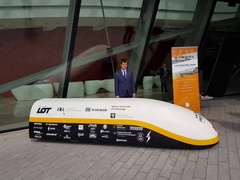 Już na początku 2019 roku inżynierowie przetestują model pojazdu zbudowany w skali 1:5, a do końca przyszłego roku planują rozpędzić do prędkości 300