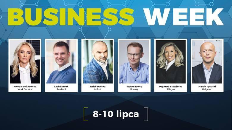 Prelegenci Business Week 2020