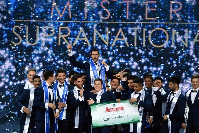 Mister Supranational 2017. Wygrał Gabriel Correa! Przystojni mężczyźni na gali w Krynicy
