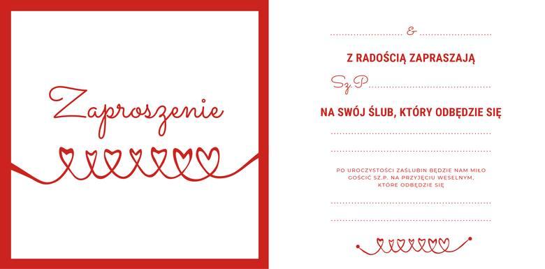 Zaproszenia ślubne Piękne I Oryginalne Wzory Do Pobrania I Wpisania