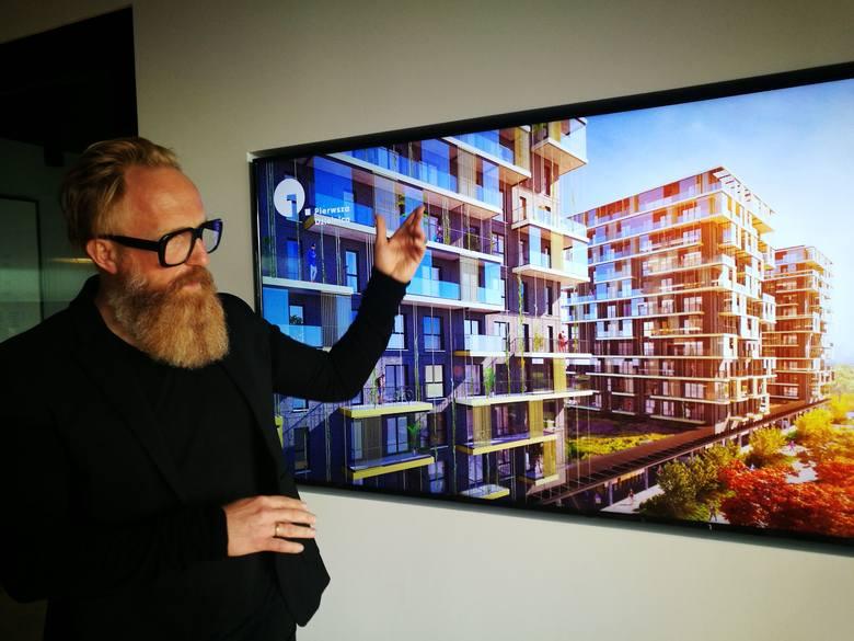 Architekt Przemo Łukasik o osiedlu w Strefie Kultury w Katowicach