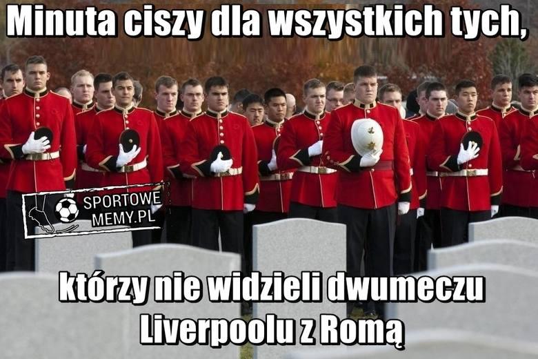 Roma wygrała u siebie w rewanżu 1/2 finału Ligi Mistrzów z Liverpoolem 4:2, ale na wyjeździe uległa 2:5 i w finale LM z Realem Madryt zagrają piłkarze