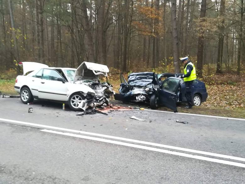 Wiercień - Żurobice. Wypadek zablokował DK19. Osiem osób trafiło do szpitala