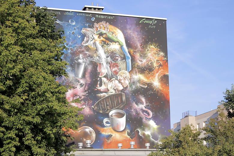 Witkace, Latawce, Wiatr - odsłonięcie dwóch murali w Parku Witkacego [zdjęcia]