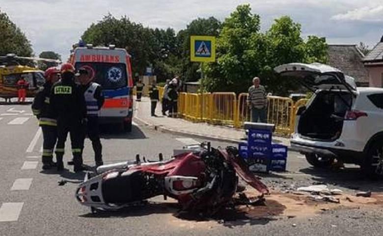 Ksiądz spowodował wypadek w Wełninie. Zginął komendant policji z Mikołowa. Duchownemu grozi 8 lat więzienia
