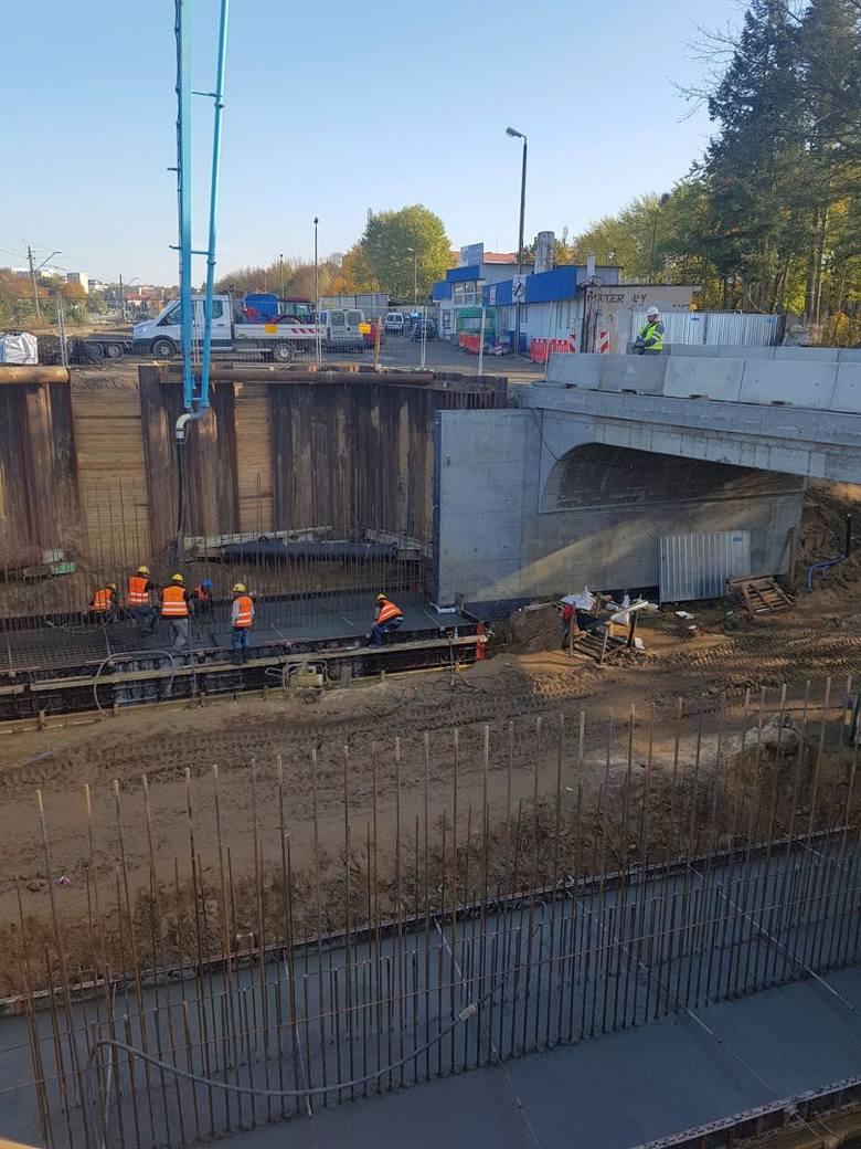Węzeł Łękno w Szczecinie. Najnowsze wieści z budowy. Jak idą prace? [ZDJĘCIA]