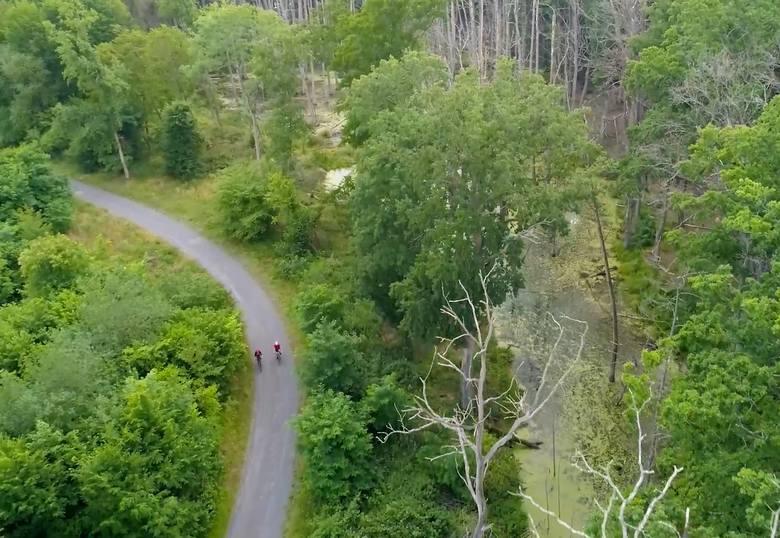 Sulechowska trasa prowadzi nas przez piękne, malownicze rejony.