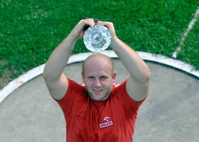 Piotr Małachowski przekazał statuetkę za wygranie Diamentowej Ligi na leczenie Jacka Gaworskiego!