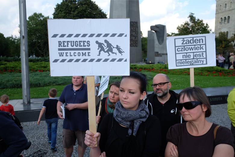 """W 2015 roku odbyła się w Poznaniu manifestacja pod hasłem """"Uchodźcy mile widziani"""""""