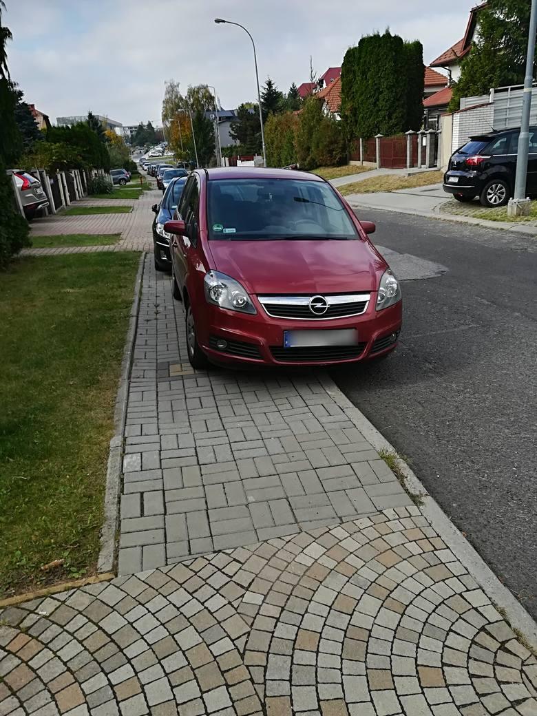 - Rzeszów miasto innowacji zmienia kodeks drogowy. Samochody na chodniki - piesi na jezdnię. A może wystarczy postawić znak: zakaz parkowania na chodniku