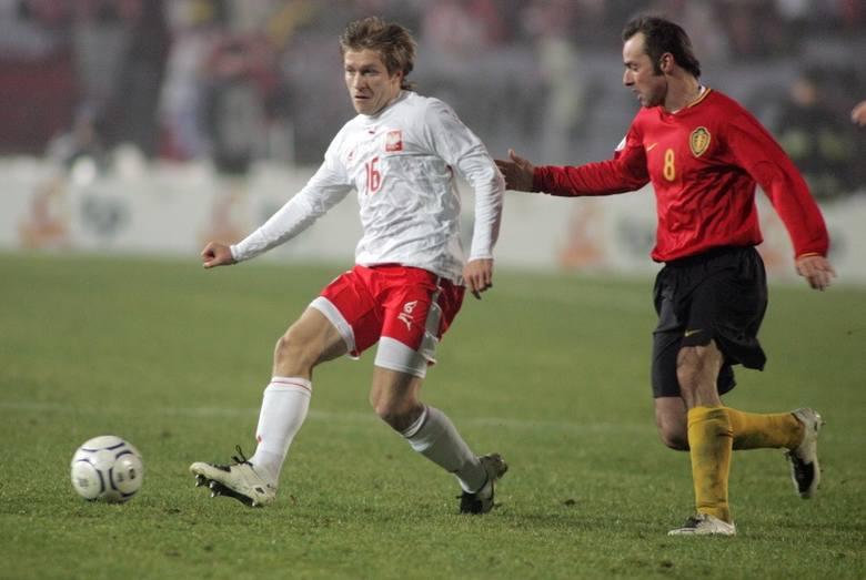 Listopad 2007: w spotkaniu Polska - Belgia w Chorzowie