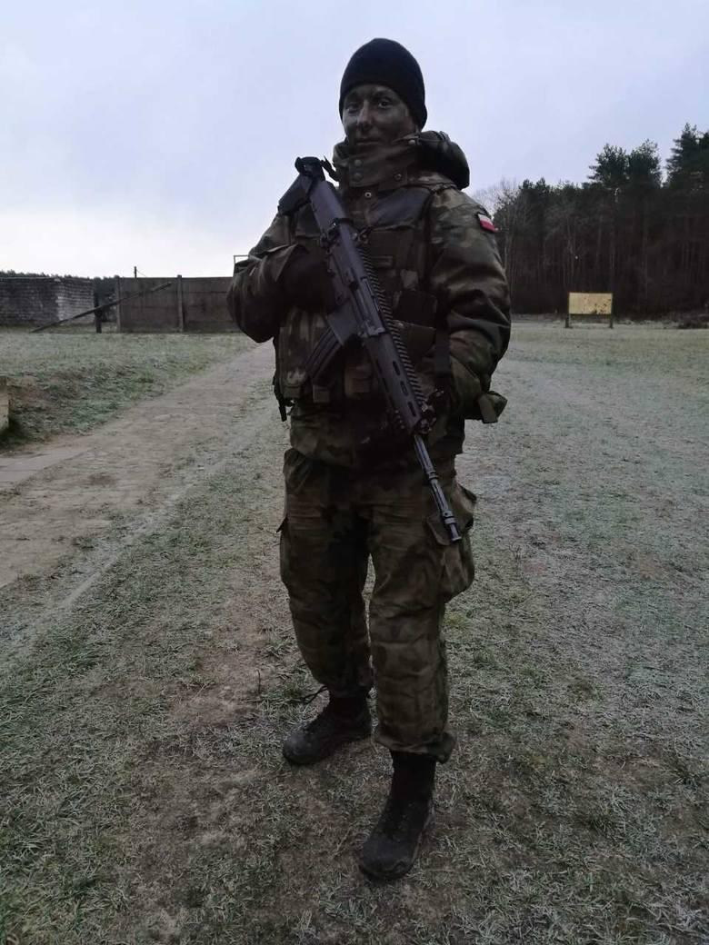 Polska G.I. Jane. Szeregowa Aleksandra Najmrodzka służy w Obronie Terytorialnej w Grójcu