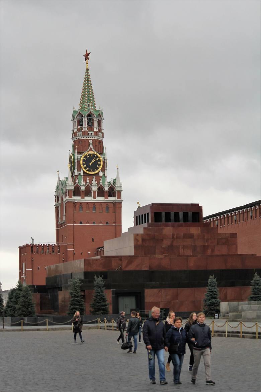 Plac Czerwony. Mauzoleum Lenina.