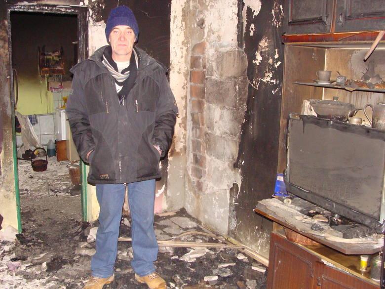 Pożar we Wróblowicach. Ciężka sytuacja rodziny
