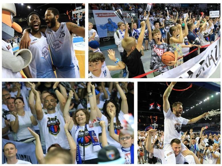 Polski Cukier Toruń znowu na podium w Energa Basket Lidze. Po zwycięstwie w dwumeczu ze Stelmetem Zielona Góra Twarde Pierniki mają brąz. Zobaczcie radość
