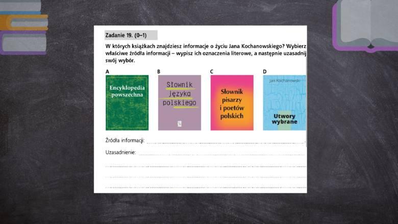 Egzamin ósmoklasisty 2019. [17.11] Język polski - test próbny ósmoklasisty z Gdańskim Wydawnictwem Oświatowym