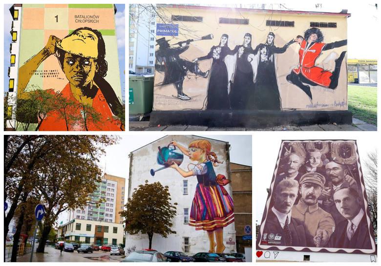 Nasze miasto słynie z przepięknych, kreatywnych murali, które zostały docenione w ogólnopolskich konkursach. Wielu z nas mija je codziennie, lecz czy