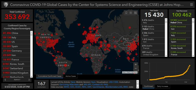 Mapa zakażeń. Gdzie sprawdzić liczbę zakażeń wirusem SARS-COVID-19? Koronawirus w Polsce i na świecie 2020 0 zasięg, kraje, liczby, wykresy