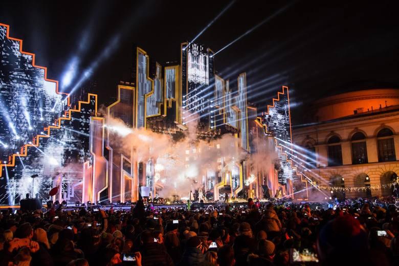 Sylwester TVN 2019 odbędzie się na placu Bankowym.