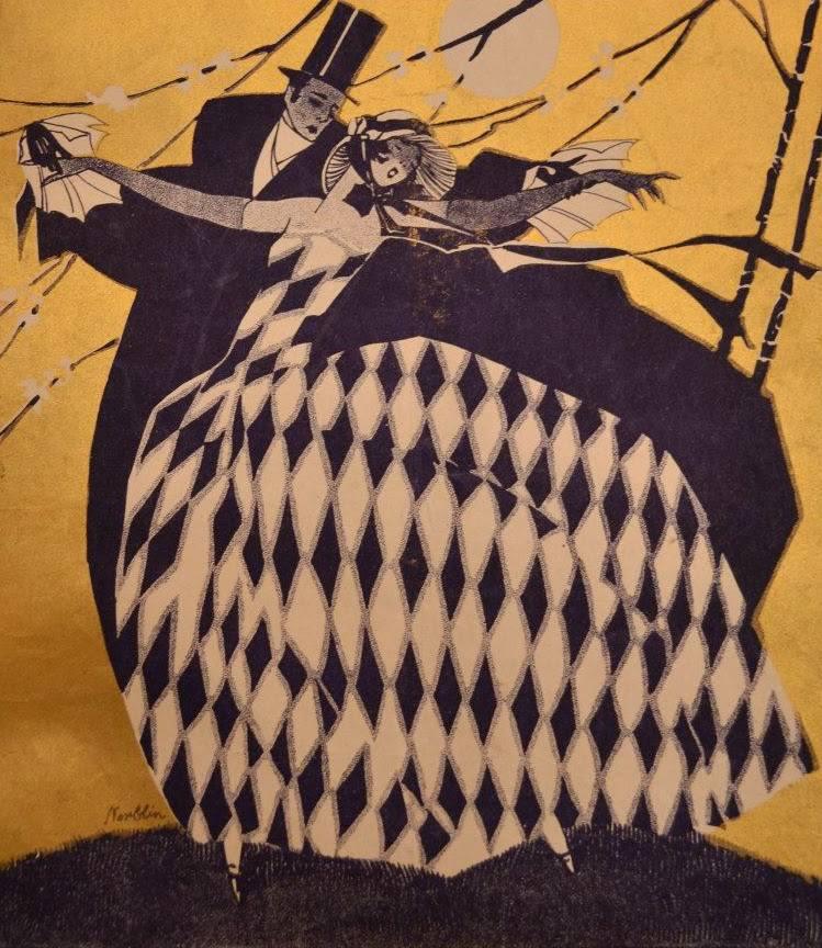Bal maskowy w Akademii Sztuk Pięknych, Warszawa, 11 stycznia 1936 roku