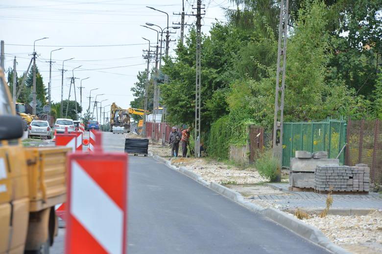 Remont ulicy Polnej w Rawie Mazowieckiej [ZDJĘCIA]
