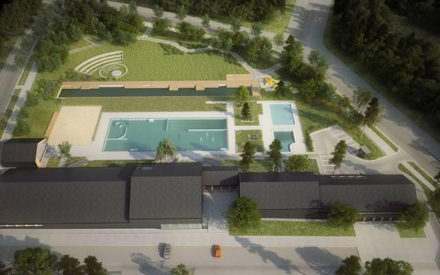 Kraków. Przy ulicy Eisenberga powstaje ogromny basen. Zobacz, jak postępują prace [GALERIA}
