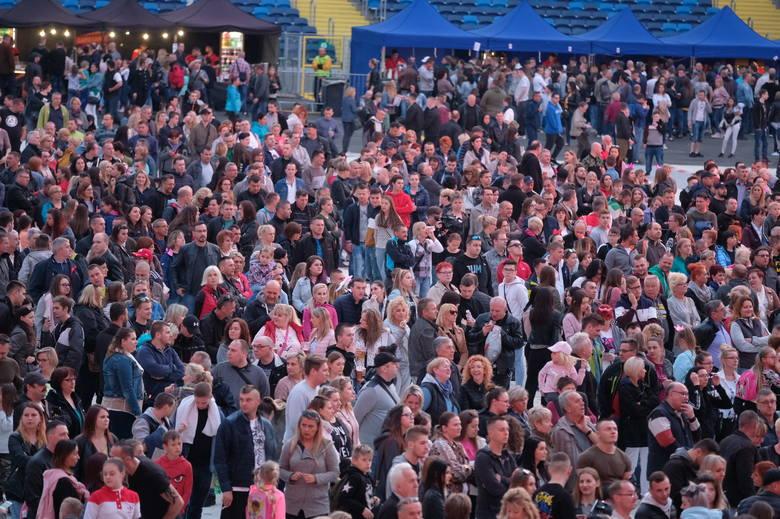 Największa impreza majówkowa była 2 maja na Stadionie Śląskim