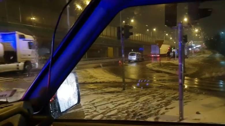 Dwa wypadki w okolicach ronda Putry w Białymstoku