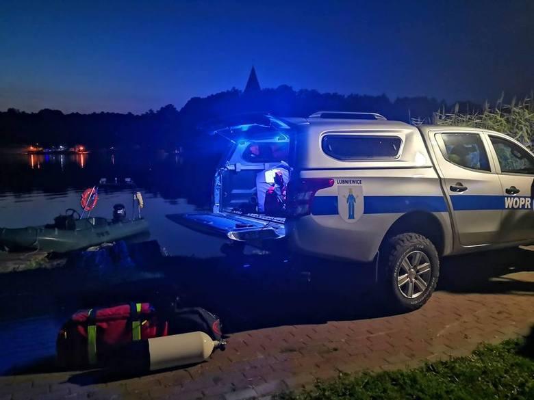W akcję ratunkową WOPR w Lubniewicach zaangażował ludzi i drogi sprzęt. W podziękowaniu usłyszał groźby.