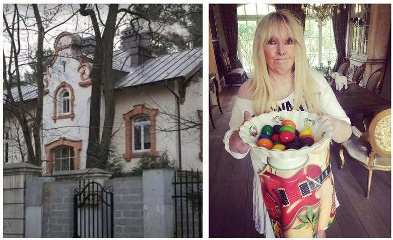 Maryla Rodowicz mieszka w pięknej, 100-letniej willi w podwarszawskim Konstancinie-Jeziornej. Dom należy do niej kilkanaście lat, kupiła go razem z byłym
