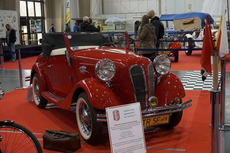 NSU Fiat to dwuosobowy kabriolet z 1937 roku. Jest to jedyny taki egzemplarz na świecie.