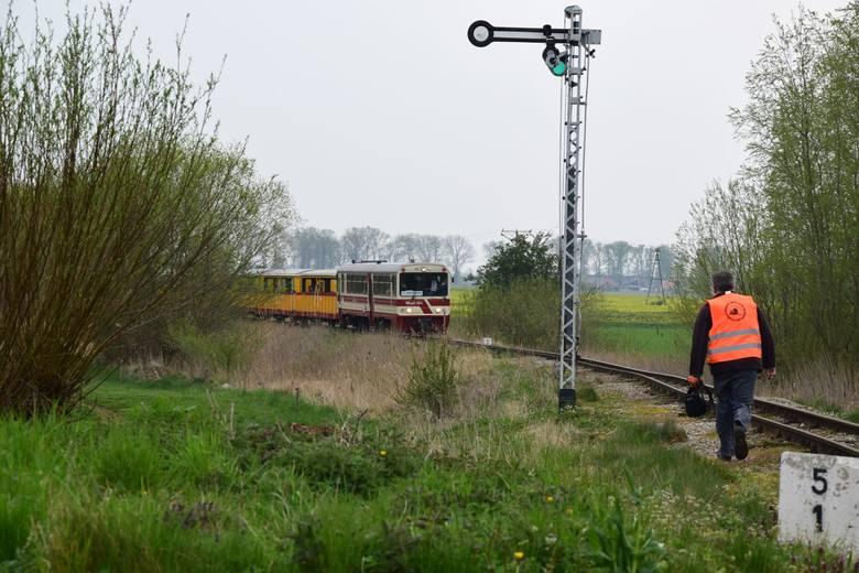 Żuławska Kolej Dojazdowa kursuje od 1.05.2020 r.