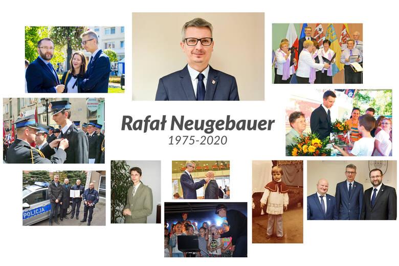 Rafał Neugebauer (1975-2020) będzie patronem nagrody za działalność społeczną i charytatywną.