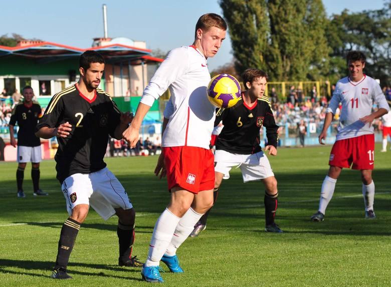 W poprzednim roku także gościliśmy w naszym regionie młodzieżowe reprezentacje. Chociażby we Włocławku, gdzie rozegrany został mecz Polska - Niemcy