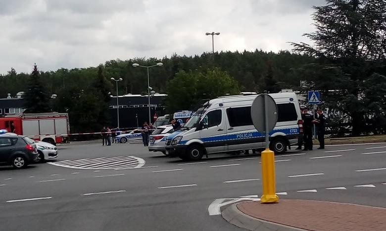 Słubice, hotel Cargo, jest doniesienie o podłożeniu bomby. 16 sierpnia 2019